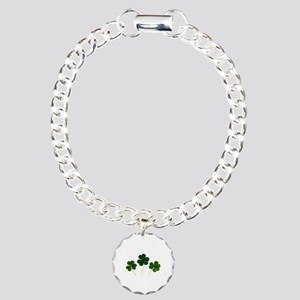 Lucky Shamrocks Charm Bracelet, One Charm