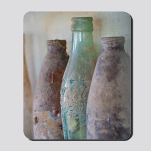 Antique Bottles Mousepad