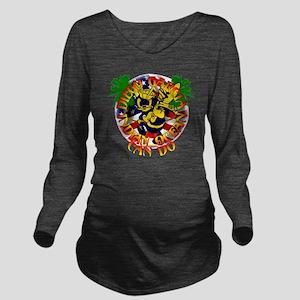SEABEE-VD-V2-TRANS Long Sleeve Maternity T-Shirt
