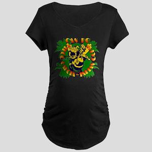 DGIO-4palms-SEABEE-TRANS Maternity T-Shirt