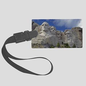 Mount Rushmore Large Luggage Tag