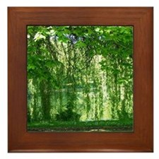 Willows Framed Tile