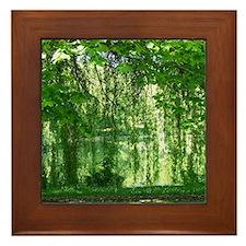 Willows Framed Tile
