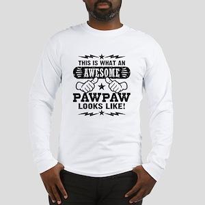 Awesome PawPaw Long Sleeve T-Shirt
