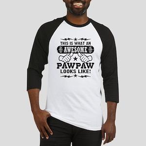 Awesome PawPaw Baseball Jersey