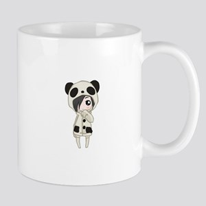 Kawaii Panda Girl Mugs