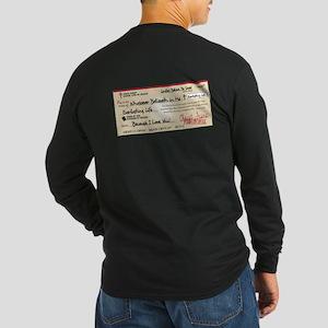 Paid in Full Long Sleeve Dark T-Shirt