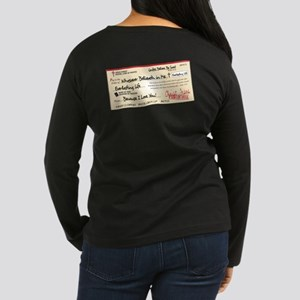 Paid in Full Women's Long Sleeve Dark T-Shirt