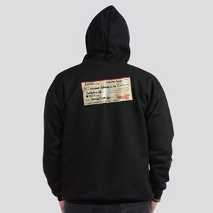Paid in Full Zip Hoodie (dark)