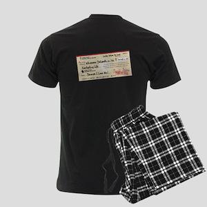 Paid in Full Men's Dark Pajamas