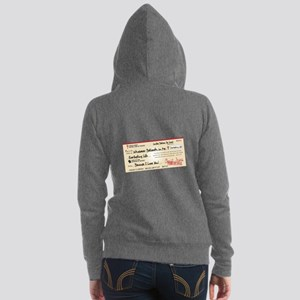 Paid in Full Women's Zip Hoodie