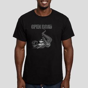 Open Road Men's Fitted T-Shirt (dark)