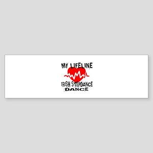My Lifeline Irish Step dance Sticker (Bumper)