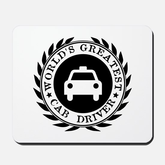World's Greatest Cab Driver Mousepad