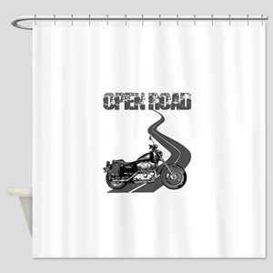 Open Road Shower Curtain