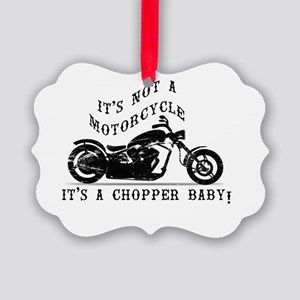 Not A Motorcycle Picture Ornament