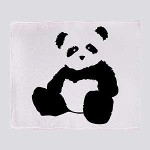 panda Throw Blanket