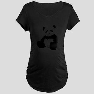 panda Maternity T-Shirt