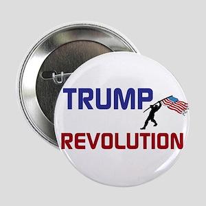 """Trump Revolution 2.25"""" Button"""