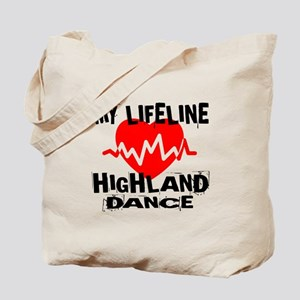 My Lifeline Highland dance Tote Bag