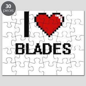 I Love Blades Digitial Design Puzzle