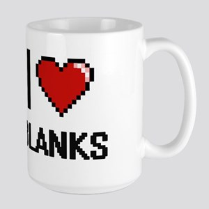 I Love Blanks Digitial Design Mugs