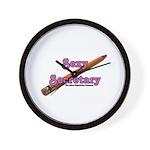 Sexy Secretary Wall Clock