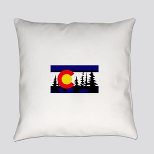 Colorado Trees2 Everyday Pillow