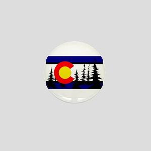 Colorado Trees2 Mini Button
