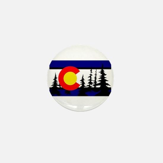 Colorado Trees2.png Mini Button
