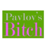 Pavlov's Bitch Postcards (Package of 8)
