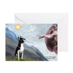 Creation of a Boston Ter Greeting Cards (Pk of 20)