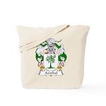 Azinhal Family Crest Tote Bag