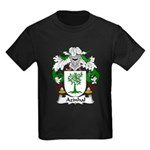 Azinhal Family Crest Kids Dark T-Shirt