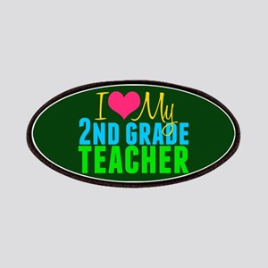 2nd Grade Teacher Patch