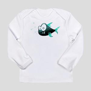 Piranha Fish Long Sleeve T-Shirt