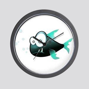 Piranha Fish Wall Clock
