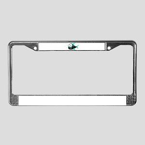 Piranha Fish License Plate Frame