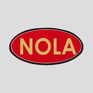 NOLA GOLD RED Patch
