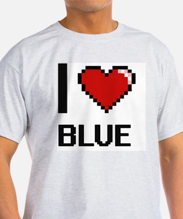 Cute Color navy blue T-Shirt