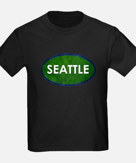 Seattle White Green Stone T-Shirt
