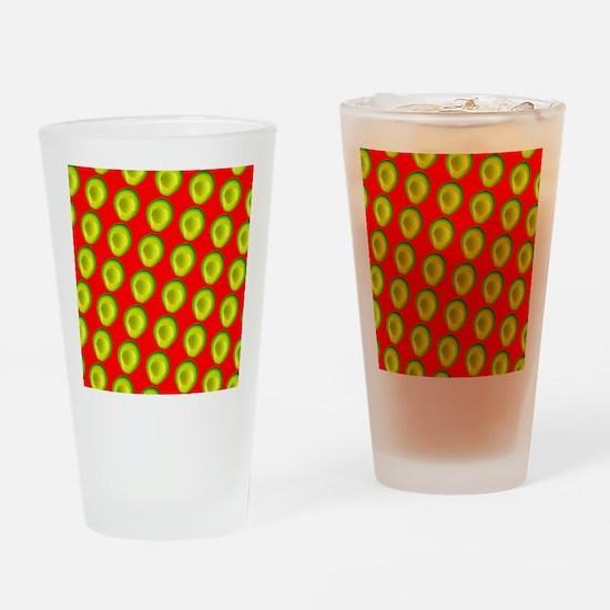 Avocado Fiesta for Hector Drinking Glass