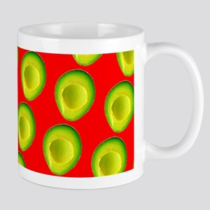 Avocado Fiesta for Hector Mugs