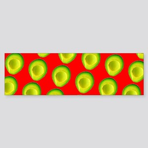Avocado Fiesta for Hector Bumper Sticker