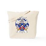 Aranha Family Crest Tote Bag