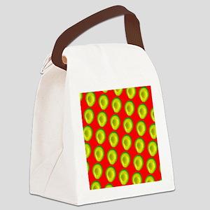 Avocado Fiesta for Hector Canvas Lunch Bag