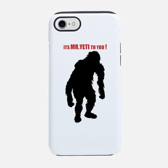 Mr. Yeti iPhone 8/7 Tough Case