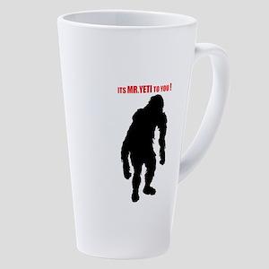 Mr. Yeti 17 Oz Latte Mug