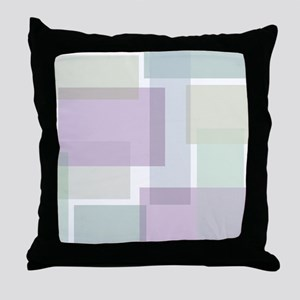 Abstract Rectangles Throw Pillow