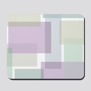 Abstract Rectangles Mousepad